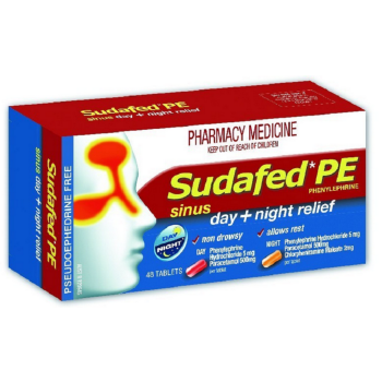 Sudafed Pe Sinus Day& Night 48 Tab