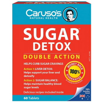 Caruso's Sugar Detox 60 Tablets