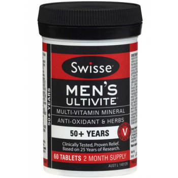 Swisse Mens Ultivite 50+ Years x 60 Tabs