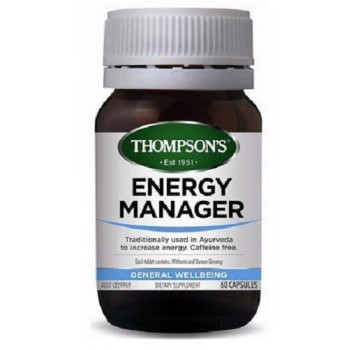 Thompsons Energy Manager 60 Capsules