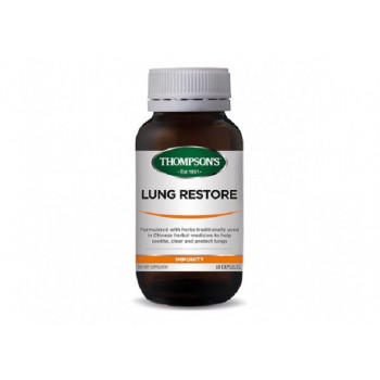 Thompsons Lung Restore 60 Capsules