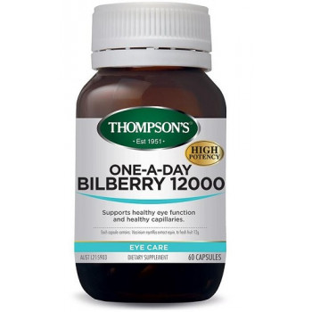 Thompsons One-A-Day Bilberry 12000mg 60 capsules