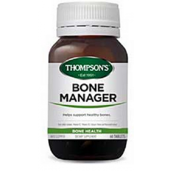 Thompsons Bone Manager 60 Tablets