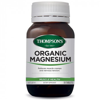 Thompsons Organic Magnesium 50 tablets