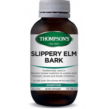 Thompsons Slippery Elm Bark 120 tablets