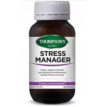 Thompsons Stress Manager 60 Capsules