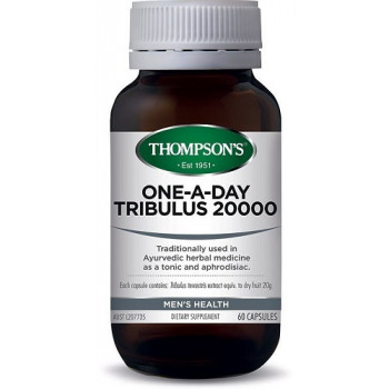 Thompsons One-A-Day Tribulus 20000mg 60 capsules