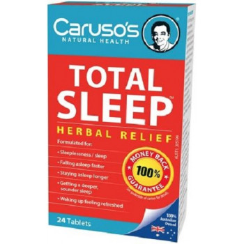 Caruso's Total Sleep 24 tablets