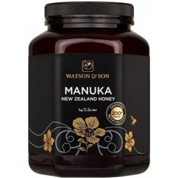 Watson & Son Manuka New Zealand Honey MGO 200+ 1KG