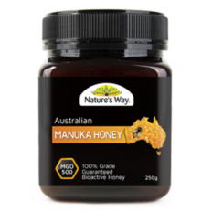 Nature's Way Australian Manuka Honey 500 MGO 250g