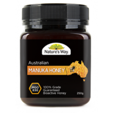 Nature's Way Australian Manuka Honey 830 MGO 250g