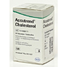 Accutrend Plus Cholesterol testing strips x25