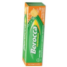 Berocca Performance Effervescent Tab Orange 15s