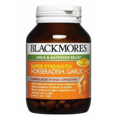 Blackmores Super Strength Horseradish Garlic + C 90 Tabs