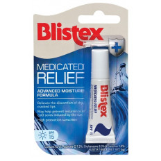 Blistex Medicated Relief SPF15 6g