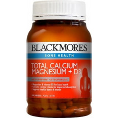 Blackmores Total Calcium And Magnesium Tabsx200
