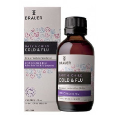Brauer Children Cold and Flu Relief 100ml