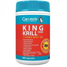 Caruso's King Krill 1500mg 60 Caps