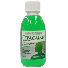 Cepacaine Oral Solution 200Ml