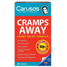 Caruso's Cramps Away 30 Tabs