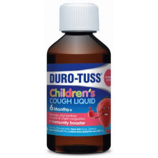 Duro-Tuss Children's Cough Liquid Natural Strawberry 200mL