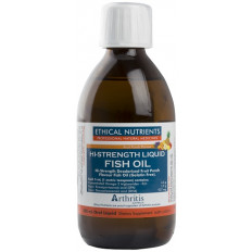 Ethical Nutrients Liquid Fish Oil Fruit Punch 280mL