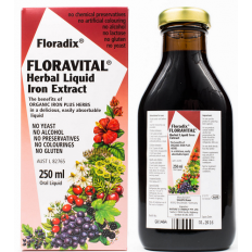 Floradix Floravital Herbal Liquid Iron Extract 250mL