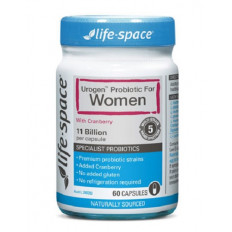 Life Space Urogenital Shield For Women 60 Caps