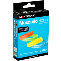 Mozzigear Mosquito Band Anti-Insect Band 2 Pack