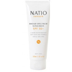 Natio Broad Spectrum Sunscreen SPF 50+ 100ML