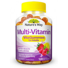 Nature's Way Multi-Vitamin VitaGummies 120s