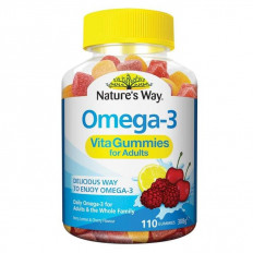 Nature's Way Omega-3 Vita Gummies 110 Gummies