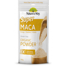 Nature's Way Super Maca Organic Powder 100g