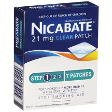 Nicabate Cq Clear 21Mg Patches 1Week