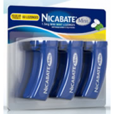 Nicabate Mini Mint Lozenges 4 Mg 60s