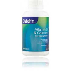 Ostelin Vitamin D Plus Calcium x 250 Tablets