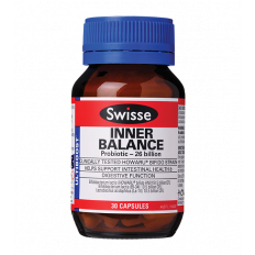 Swisse Inner Balance Probiotic 26 Billion 30 Caps