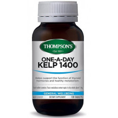 Thompsons One-A-Day Kelp 1400mg 120 tablets