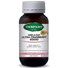 Thompsons One-A-Day Ultra Cranberry 60000mg 60 Capsules