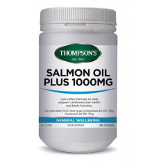 Thompsons Salmon Oil 1000mg 500 capsules