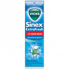 Vicks Sinex Extra Fresh Menthol Nasal Decongestant 15ml
