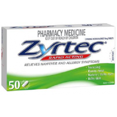 Zyrtec 10MG Tablets x50s