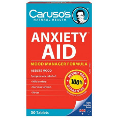 Caruso's Anxiety Aid 30 tab