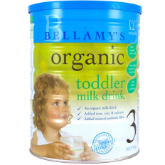 Bellamy's Organic Step 3 Toddler Formula 900g