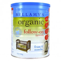 Bellamy's Organic Step 2 Follow-On Formula 900g