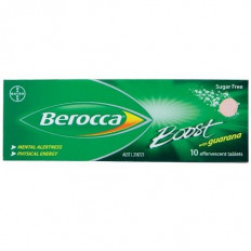 Berocca Boost with Guarana 10 Effervescent Tablets