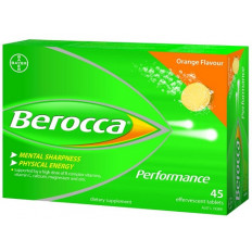 Berocca Performance Orange 45 Effervescent Tablets