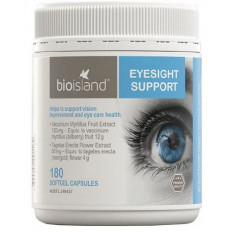 Bio Island Eyesight Support 180 Capsules