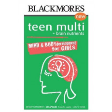 Blackmores Teen Multi For Girls 60 Caps