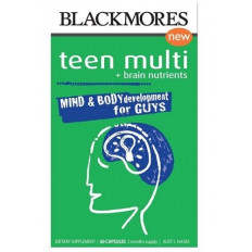Blackmores Teen Multi For Guys 60 Caps